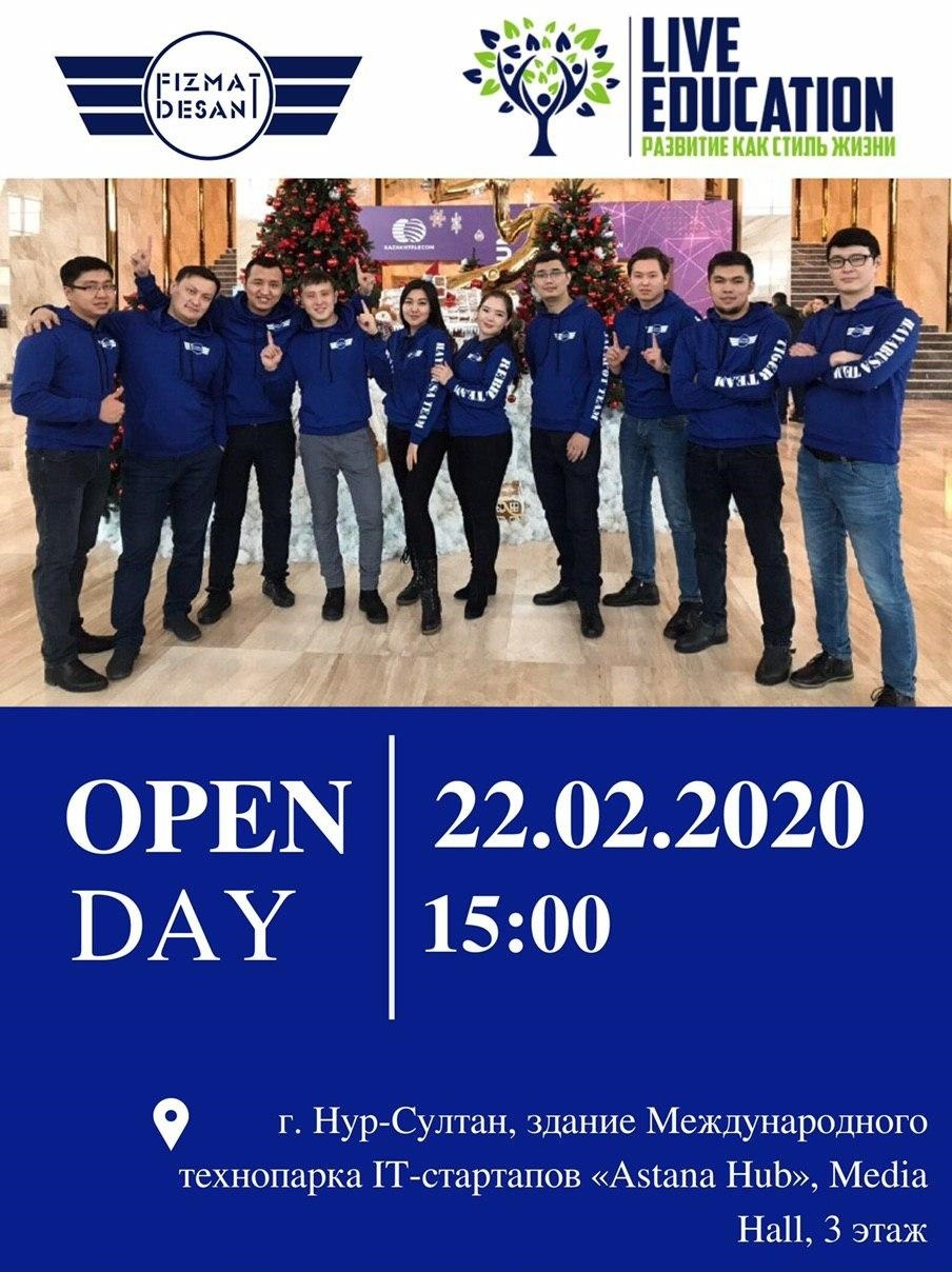 Open day 22.02.2020